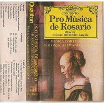 Pro Musica De Rosario Musica Cortesana En Polonia - Cassette