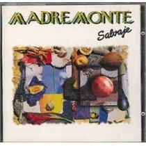 Cd Madremonte Salvaje Cumbia Colombiana!!!!!