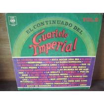 Cuarteto Imperial El Continuado 2 Disco Vinilo Lp