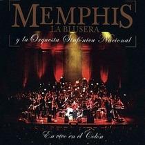 Memphis La Blusera Cd: En Vivo En El Colón ( Argentina )