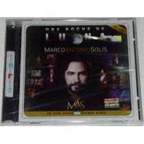 Marco Antonio Solis Una Noche De Luna Cd + Dvd Sellado