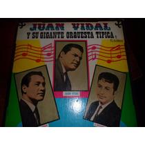 Vinilo Juan Vidal,baez,riveros Excelente Estado