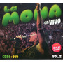 La Mona Jimenez En Vivo Vol 2 Cd+dvd Cd N°86 (ya Disponible)