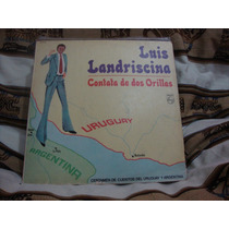 Vinilo Luis Landriscina Contata De Dos Orill
