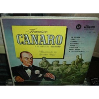 Francisco Canaro Recordando La Guardia Vieja Vinilo 10