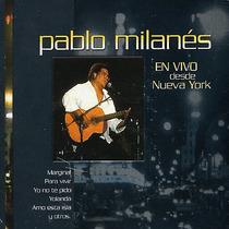 Pablo Milanes En Vivo Desde Nueva York Cd Digipak Descatalog