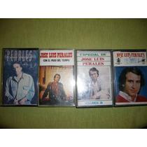 Lote De Casettes Jose Luis Perales