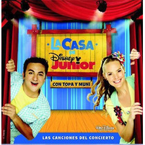 La Casa De Disney Junior Topa Y Muni Cd Original Clickmusics