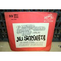 Jimmy Fontana Mi Serenata Simple C/tapa Argentino
