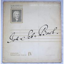 Lp: I Grandi Musicisti N°105: Bach 4