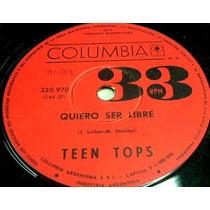 Teen Tops Quiero Ser Libre Simple Argentino