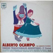 Alberto Ocampo Danzas Tradicionales Argentinas - Vinilo