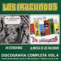 Los Iracundos Cd Discografia Completa - Vol. 4 Vers Original