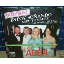 Abba Estoy Soñando En Castellano Simple Argentino C/tapa