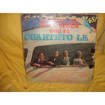 Vinilo Cuarteto Leo Llego El Sucundin