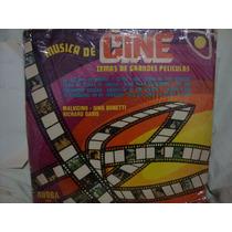 Vinilo Musica De Cine Malvicino Davis Bonetti