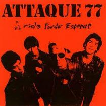 Attaque 77 - El Cielo Puede . ( Lp Sellado ) 2015 Zona Sur