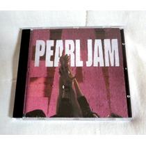 Oferta, Cd De Pearl Jam Ten Importado Muy Buen Estado