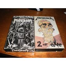 Manowar Vhs & Metallica Vhs.