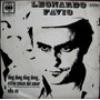 Leonardo Favio - Ding Dong / Ella Es - Simple Tapa Año 1969