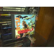The Best Of Godzilla 1954 - 1975 Cd Soundtrack 1998 Usa