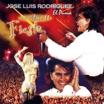 Jose Luis Rodriguez- En Ritmo 2- Fiesta- Cd- Nuevo- Original
