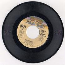 Kiss Rocket Ride Vinilo 7 1977 Casablanca Mono Stereo Raro