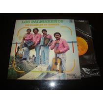 Los Palmareños Con El Alma En Un Chamame Pro 1987 Vinilo Nm+