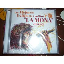 Cd Los Mejores Exitos Carlitos Mona Jimenez Nuevo Y Original
