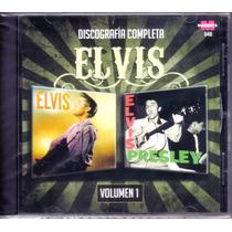 Elvis Presley Discografía Completa Vol.1 (2 Discos En 1 Cd)