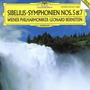 Sibelius: Sinfonías Nros 5 Y 7 L. Bernstein Wiener Philh. Cd