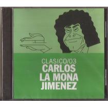 Carlitos La Mona Jimenez Cd Clasico /03 Cuarteto Cd Nuevo