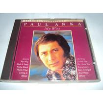 Paul Anka - My Way - Cd Made In Europe 1989