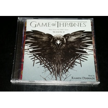 Game Of Thrones (cd) Music From The Hbo Series Season 4
