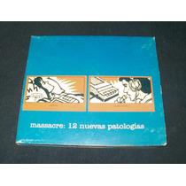 Massacre - 12 Nuevas Patologias (2003) 1° Ed. Digipack