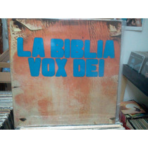 Vox Dei La Biblia Original Doble Lp Argentina Lacapsula