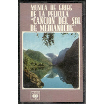 Musica De La Pelicula Cancion Del Sol De Medianoche Cassette