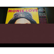 Monie Love Don´t Funk Wid The Mo Remix Dj 1990 Vinilo Lp Usa