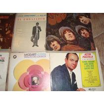 Vinilos The Beatles,mozart,gardel,reliquias.mas D 80 Titulos