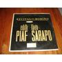 Edith Piaf Theo Sarapo Recital En Bovino 1963 Lp Argentina