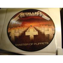 Metallica Master Of Puppets Picture Disc Lp Vinilo Nuevo