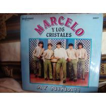 Manoenpez Vinilo Marcelo Y Los Cristales Ay Niña
