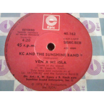 Kc And The Sunshine Band Simple Vinilo