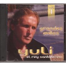 Yuli El Rey Santafesino Cd Grandes Exitos Vol. 1 Cumbia