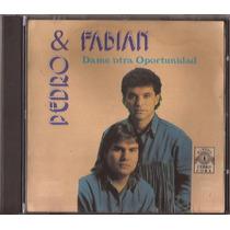 Pedro & Fabian Cd Dame Otra Oportunidad Musica Paraguaya