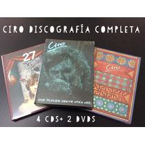 Ciro - Discografía Completa - Cds + Dvds Originales