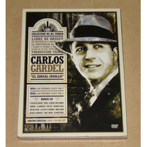 Carlos Gardel El Zorzal Criollo 2 Dvds + Cd Nuevo Cerrado