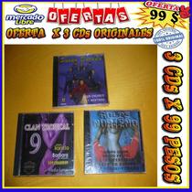 Golpe Norteño 3- Clan Tropical 9- Sueño Dorado - Lote 3 X 99