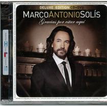 Marco Antonio Solis - Gracias Por Estar Aqui - Cd+dvd