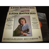 Lito Romero Homenajeando Recuerdos Promo 1985 Vinilo Nm+